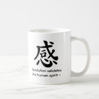 Vishet revolution validerar människaanden - kaffemugg