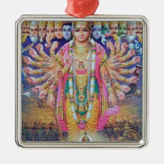 Vishnu Julgransprydnad Metall