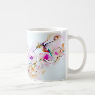 """""""Vision i rosa"""" Hummingbirdtryck Kaffemugg"""