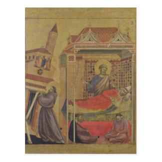 Visionen av Pope Oskyldig III, c.1295-1300 Vykort
