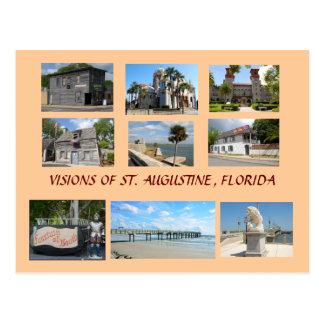 Visioner av St Augustine, Florida Vykort