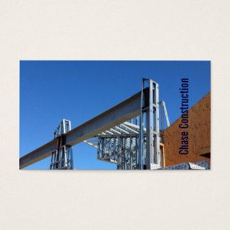 Visitkort CRM för leverantör för blå