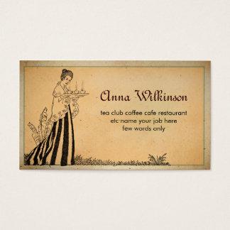 visitkort för caferestaurangbageri