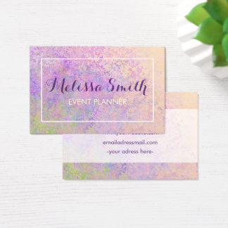 Visitkort för Colorfull bakgrundsdesign