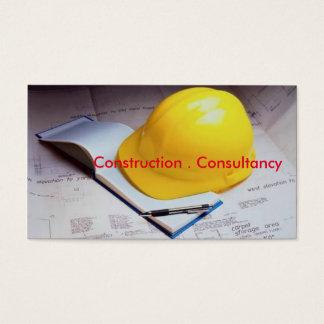 Visitkort för Consultancy eller konstruktion