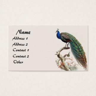 Visitkort för djur för djurliv för