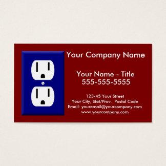 Visitkort för elektriker 5