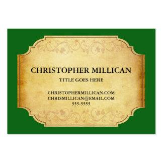 Visitkort för etikett för vintageChanpagne vin