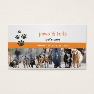 visitkort för hundtränare