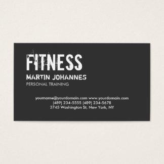 Visitkort för instruktör för moderiktig grå