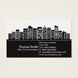 Visitkort för konstruktionsföretag