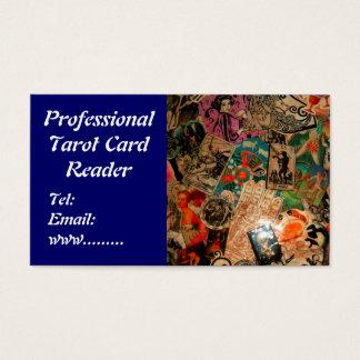 Visitkort för läsning för Tarot kort