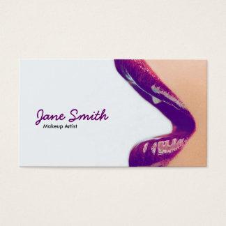 Visitkort för Makeupkonstnär