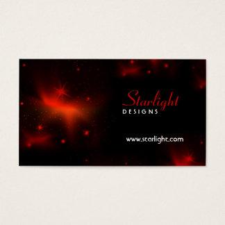Visitkort för natthimmel