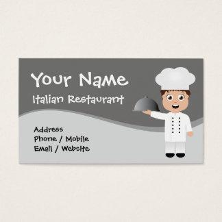 Visitkort för restaurang/kock/catering