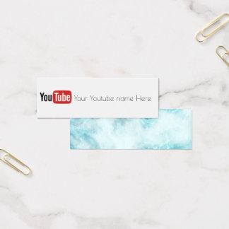 visitkort för skapare för youtube socialmedia
