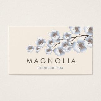 Visitkort för Spa för skönhet för eleganta