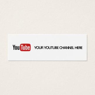 visitkort för youtube social massmediatrendig