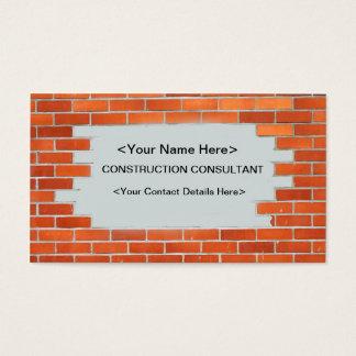 Visitkort - konstruktionskonsulent