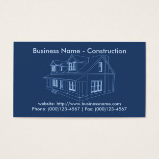 Visitkort: Leverantör/konstruktion Visitkort