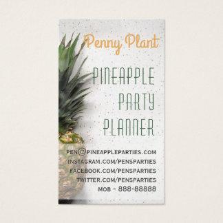 Visitkortar för ananaspartyPlanner Visitkort