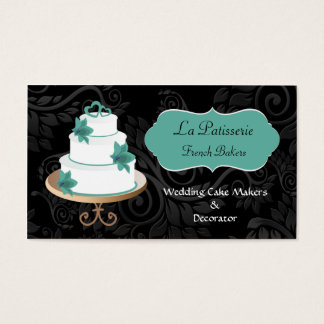 visitkortar för aquabröllopstårtatillverkare visitkort
