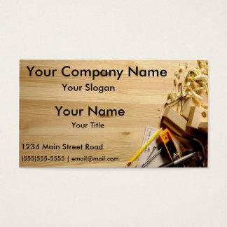 Visitkortar för konstruktionsföretag visitkort