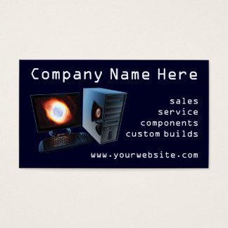 Visitkortar för lager för dator #2 visitkort