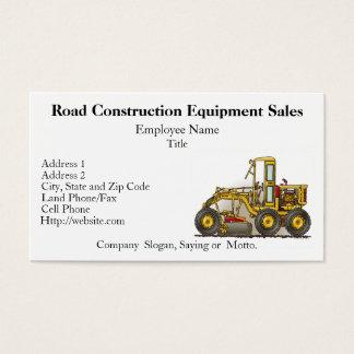 Visitkortar för vägväghyvelkonstruktion visitkort