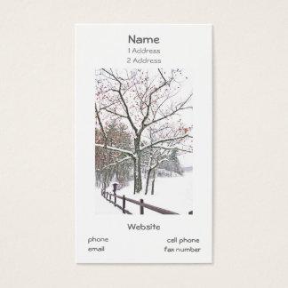 Visitkortar med ett handlag av naturen visitkort