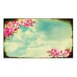 Visitkorten blommar i himmlen