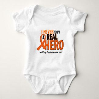 Visste aldrig en ORANGE för hjälte 2 (pappan) Tee Shirt