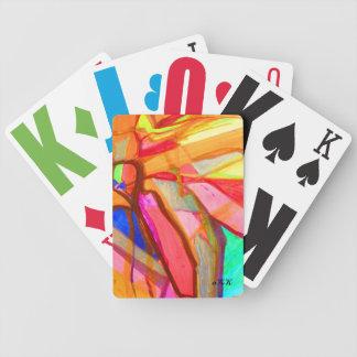 Visuellt hjälpmedelkonst 850 spelkort