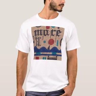 Visuellt hjälpmedelpoesi t-shirt