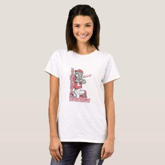 Vit för Lincoln elementär kvinnaskjorta T-shirt