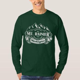 Vit för Mount Rainier bergEmblem Tröja