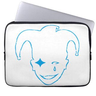 Vit och blått MTJ Laptop Sleeve