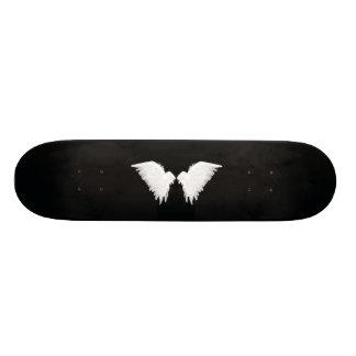 Vit påskyndar skateboarden skateboard bräda 21,5 cm