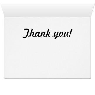 Vit tackar dagligen dig att card OBS kort