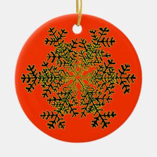 Vit Transp för Snowflake 2 den MUSEUMZazzle gåvan… Julgransdekoration