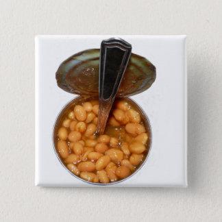 Vita bönor i tomatsås i TinCan med skeden Standard Kanpp Fyrkantig 5.1 Cm