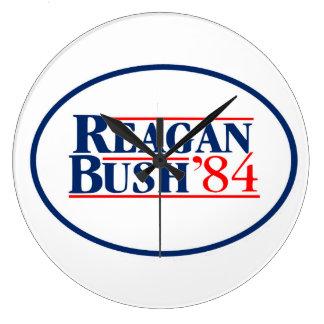 Vita hus 1984 för Reagan Bush valpresident Stor Klocka