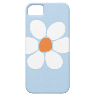 Vitblomma iPhone 5 Case-Mate Skal