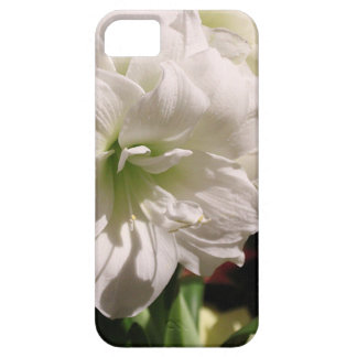 Vitblomma iPhone 5 Fodral