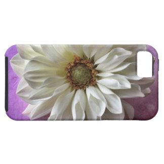 vitblomma på Vibefodral för polka dots iPhone5 iPhone 5 Cover