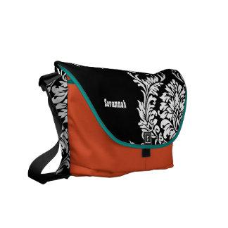 VitDamast väljer du färger Kurir Väska