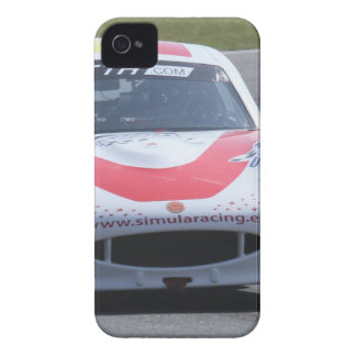 VitGinetta tävlings- bil iPhone 4 Case-Mate Skal