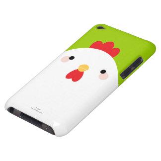 Vithöna på grönt Case-Mate iPod touch fodral