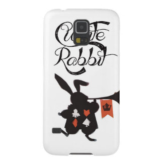 Vitkanin, Alice i underland Galaxy S5 Fodral
