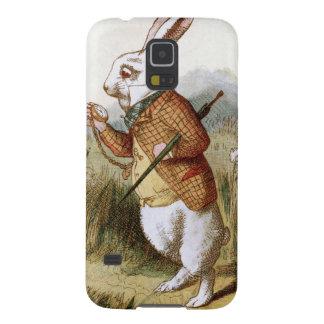 Vitkaninen - Alice i underland Galaxy S5 Fodral
